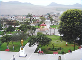 Plaza de Chancay